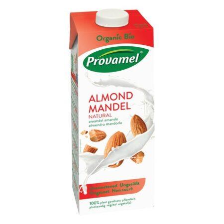 Biologische lactose vrije melk en suikervrije sappen