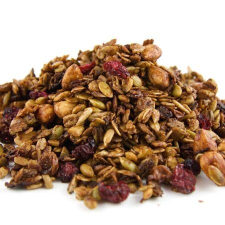 Biologische suikervrije granola